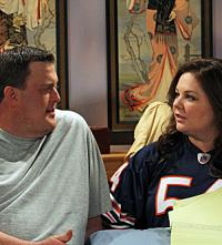 Mike and Molly in Bed