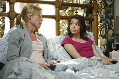 Mother/Daughter in Bed