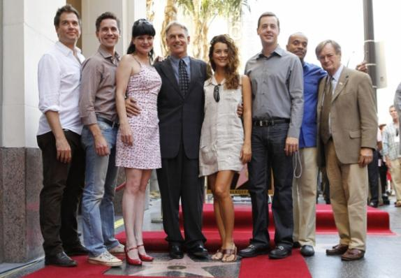 NCIS Cast on Walk of Fame