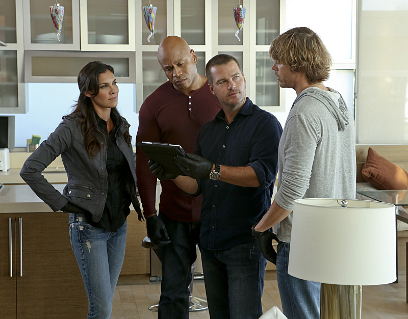 NCIS Los Angeles Fab Four