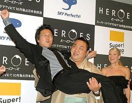 Masi Oka Gets a Lift