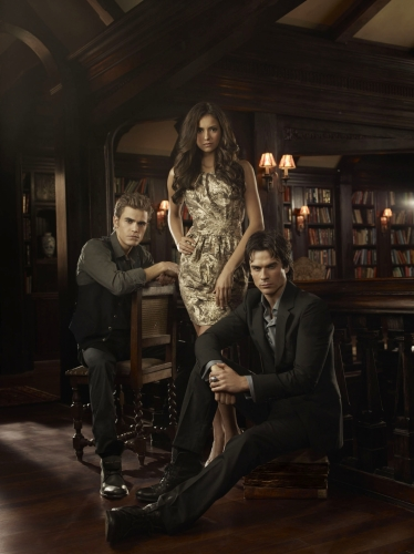 nina dobrev ian somerhalder and paul wesley. Nina Dobrev, Ian Somerhalder