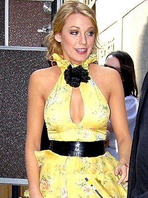 How hot is Blake Lively? Like the sun? Or something else yellow and warm?