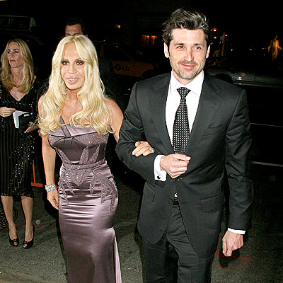donatella versace. and Donatella Versace