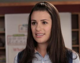 "Lea Michele Speaks on ""Rachel's Journey"" on Glee"