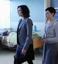 Regina and Mary Margaret in the Hospital