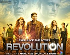 Revolution Return Poster: Taking Back the Power