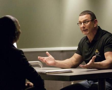 Robert Irvine on Body of Proof