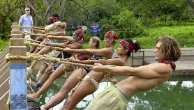 Rope Over Water Immunity Challenge