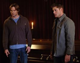Jensen and Jared on for Supernatural Season Six