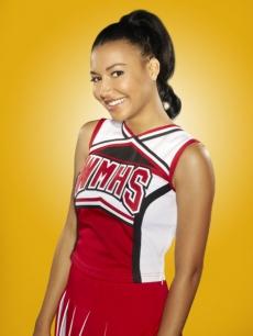 Santana on Glee