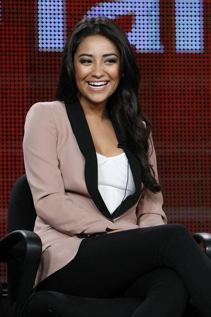 shay mitchell 2011. Shay Mitchell at Press Tour