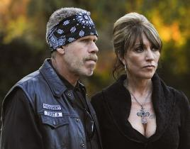 Katey Sagal Speaks on Sons of Anarchy Rape, Singing Scenes