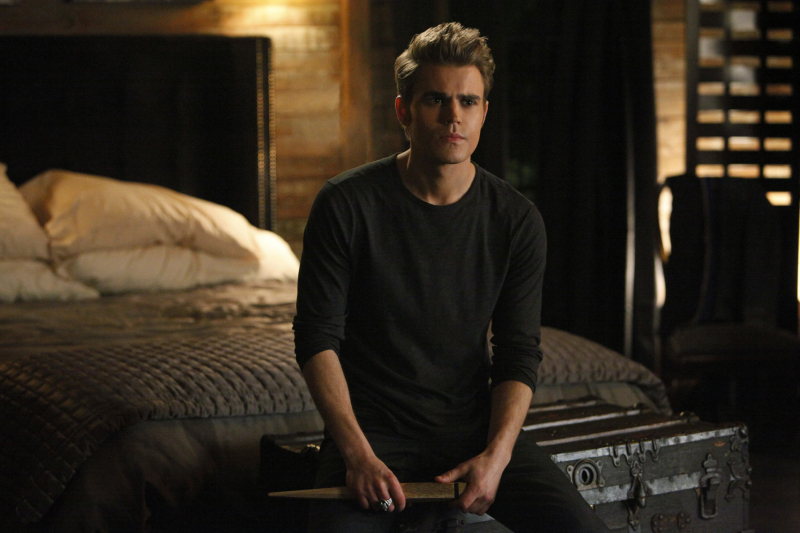Stefan with a Stake