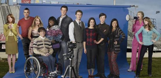 entire glee cast. The Glee Cast