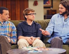Two and a Half Men Review: Winning!