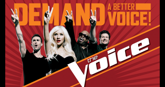 the voice tv show contestants. The Voice Logo