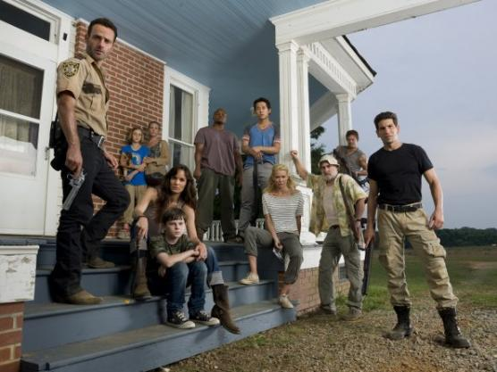 The Walking Dead Cast Photo