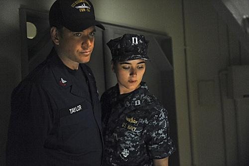 Tony and Ziva on Board