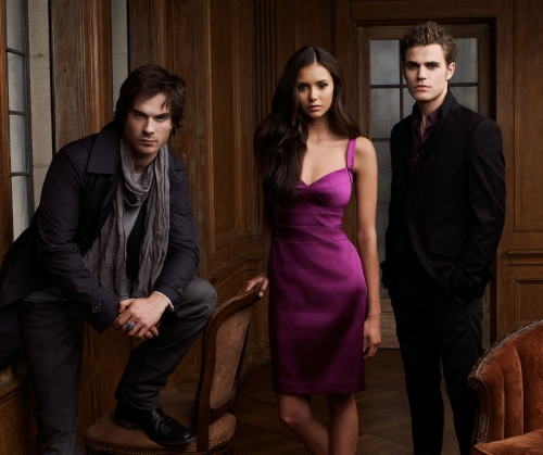 vampire diaries damon and stefan. Vampire Diaries Season 2 Cast