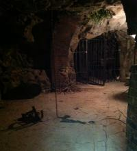 Vampire Diaries Set Shot