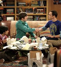 Wolowitz and Sheldon Bet