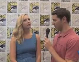 Candice Accola Comic-Con Interview