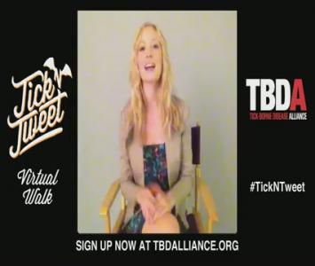 Candice Accola Tick-Borne Disease Alliance PSA