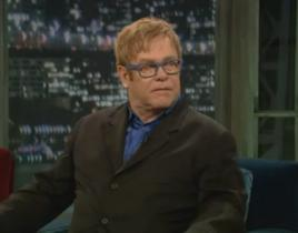 Elton John on Jimmy Fallon