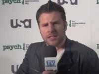 James Roday is a TV Fanatic!