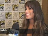 Lea Michele Comic-Con Interview