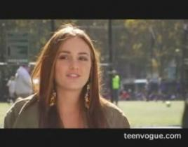 Behind the Scenes of Leighton Meester's Teen Vogue Shoot