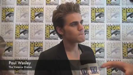 Paul Wesley at Comic-Con
