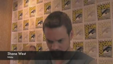 Shane West at Comic-Con