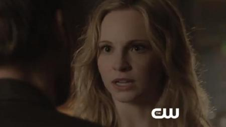 The Vampire Diaries 'Because the Night' Clip - Klaroline Tension