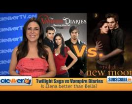 The Vampire Diaries or The Twilight Saga: The Debate Continues